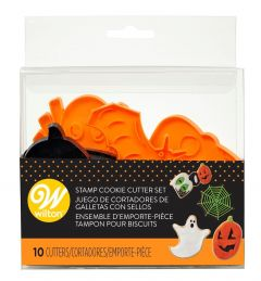 Utstikkersett Halloween Wilton 10 dl