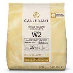 Sjokolade Callebaut Hvit 400G (W2)
