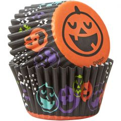 Muffinsform MINI Halloween Pumpkin, 100 stk