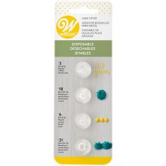 Tipper resirkulerbare i plast #3 #18 #6 #21, 4 dl