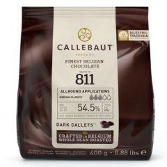 Sjokolade Callebaut Mørk 400G  (811)