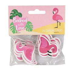 Sticks Flamingo 24 stk