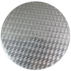 Kakebrett rundt, sølv 12,5cm