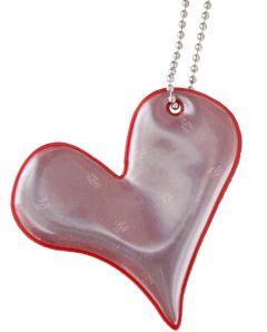 REFLEKS Foamy Heart Red