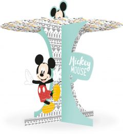 Kakestand i papp med Mickey Mouse AW 25 x 27 cm
