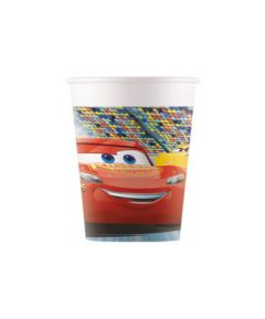 Drikkekrus i Papp, Cars 8 stk