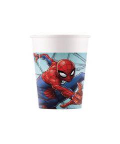 Drikkekrus i Papp, Spiderman 8 stk