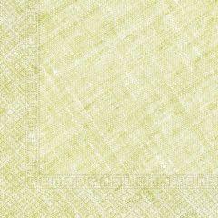 Papirservietter Compostable Lime Grønn Textile 20