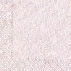 Papirservietter Compostable Rosa Textile 20 stk, 3