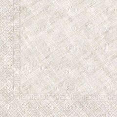 Papirservietter Compostable Beige Textile 20 stk,