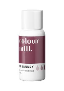 Oil Based Colouring 20ml Burgundy