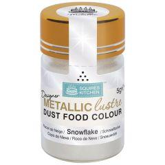 Designer Dust Snowflake Metallic Food Colour, 5g