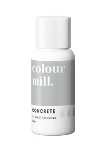 Oil Based Colouring 20ml Concrete