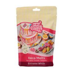 Candy Deco melts Ekstra Hvit, 250 g