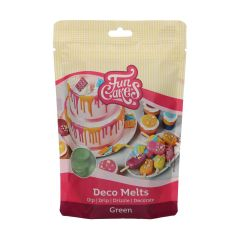 Candy Deco melts Grønn, 250 g Funcakes