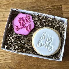 Happy Birthday Cookie Stamp