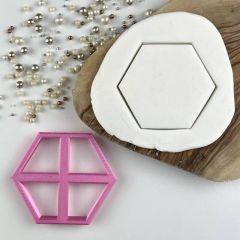 Hexagon utstikker 7 cm