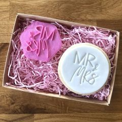 Mr & Mrs Cookie Stamp