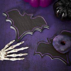 Servietter Halloween Flaggermus, 16 stk