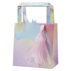 Partybag papir Enhjørning 5 stk, 26x15x9cm