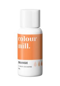 Oil Based Colouring 20ml Orange