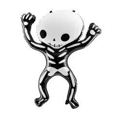Ballong HalloweenSkjelett, Folie 84x100cm,