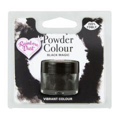 Powder Colour spiselig Svart, 2g