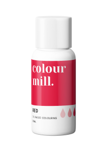 Oil Based Colouring 20ml Red