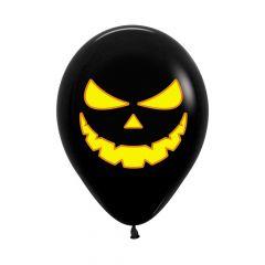 Ballonger Gresskar Svart Bright 30cm, 12 PK