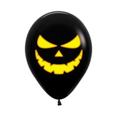 Ballonger Halloween Svarte 30cm, STK