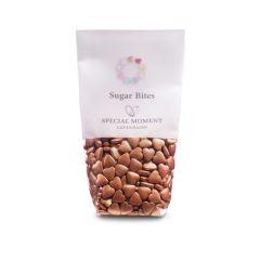 Sukker hjerte mini - Kobber metallic 140g