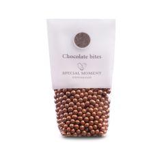 Sjokolade kuler mini - Kobber metallic 130g